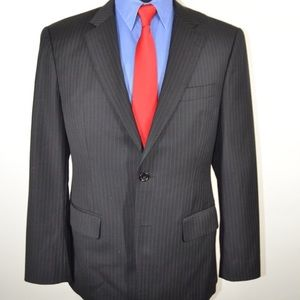 Hugo Boss Pinstripe Sports Coat Blazer